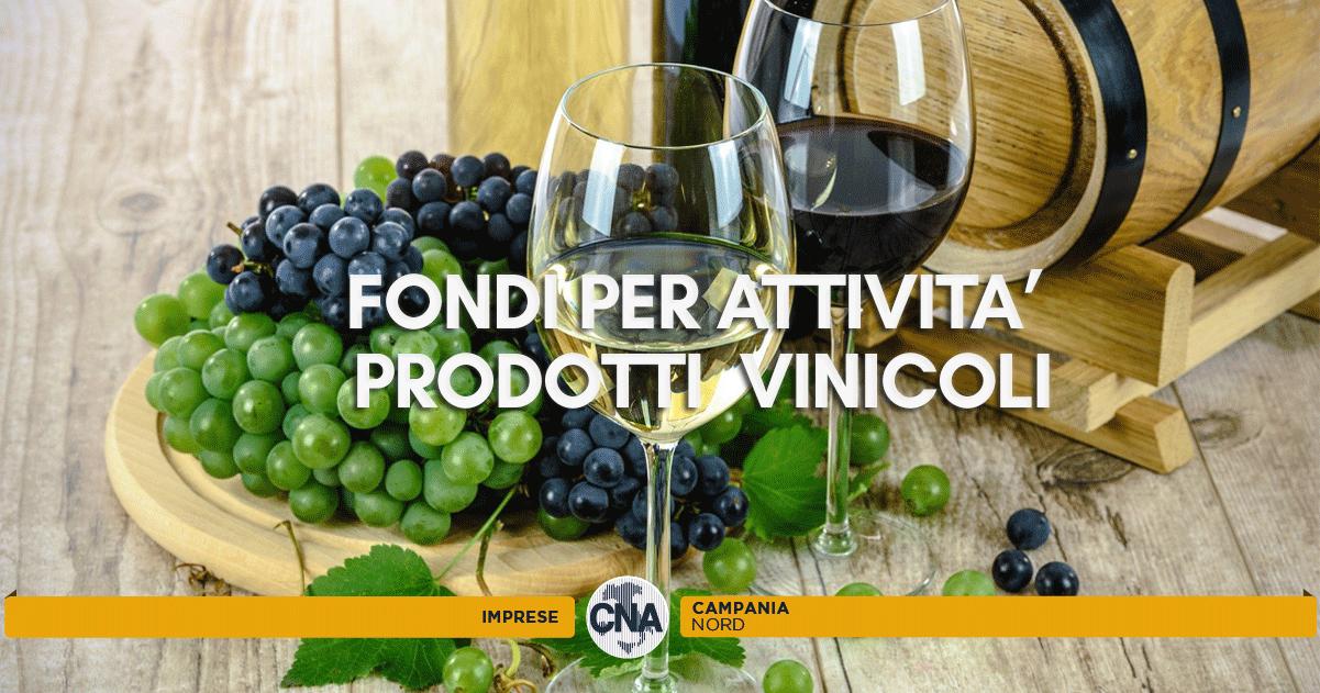 fondo per attività con prodotti vinicoli