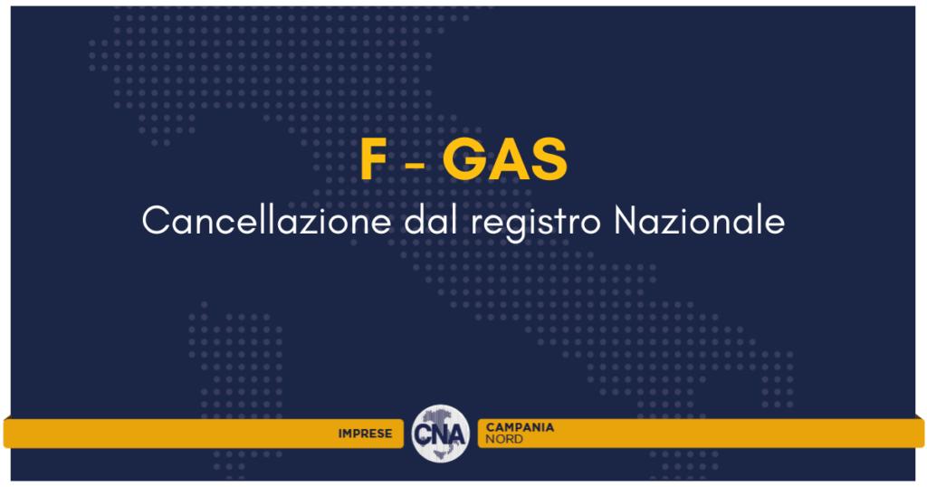 fgas cancellazione dal registro cna campania nord